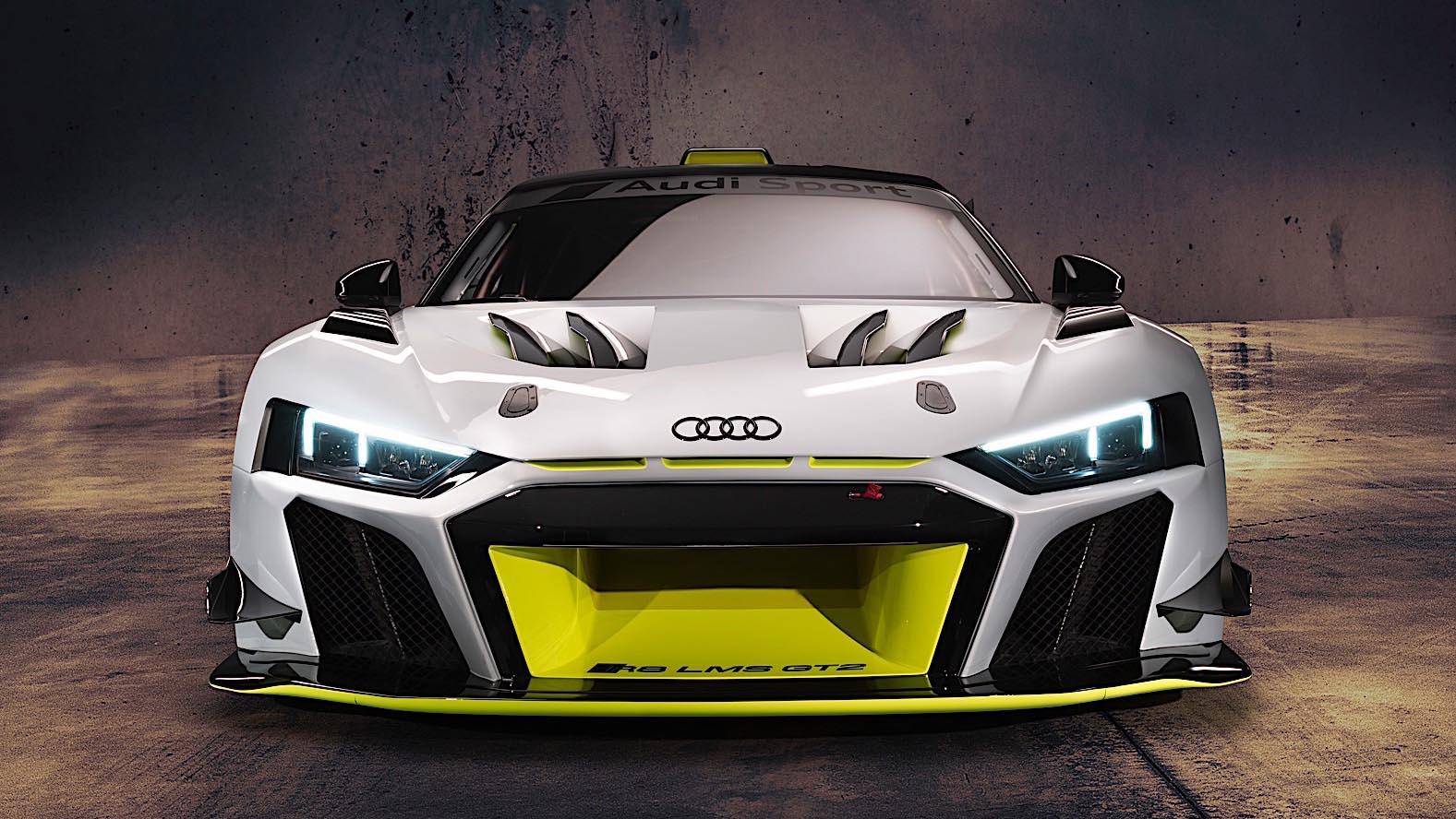 2020 Audi R8 LMS GT2 представлен с 640 л. с.
