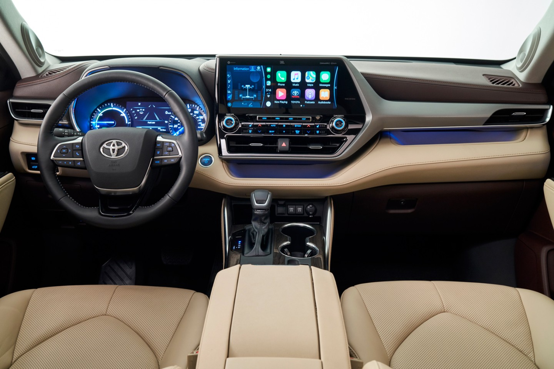 2020 Toyota Highlander foto, inter'er, salon, tehnicheskie harakteristiki, cena, obzor, data vyhoda — video