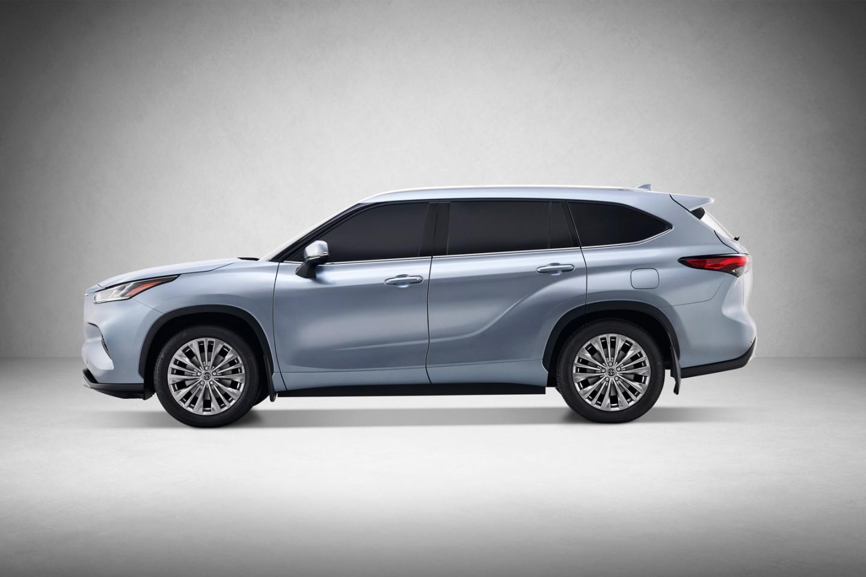 2020 Toyota Highlander foto, jekster'er, vid sboku, tehnicheskie harakteristiki, cena, obzor, data vyhoda — video