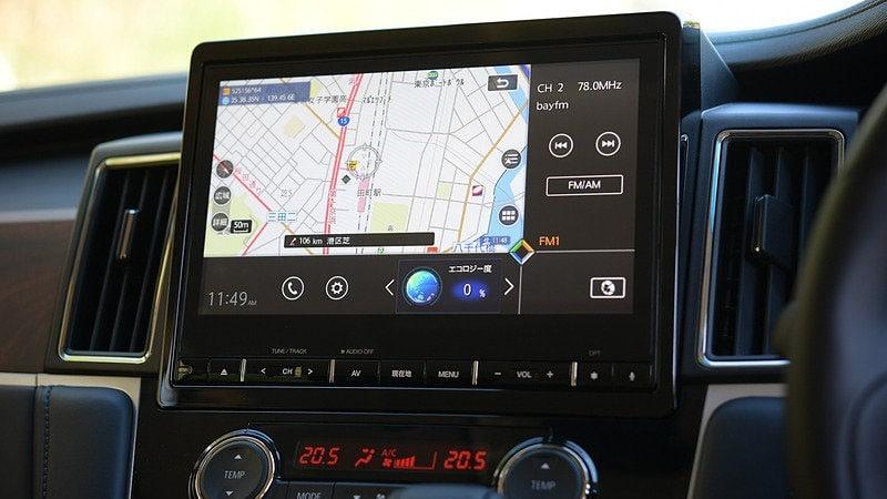 Mitsubishi Delica 2020 мультимедиа