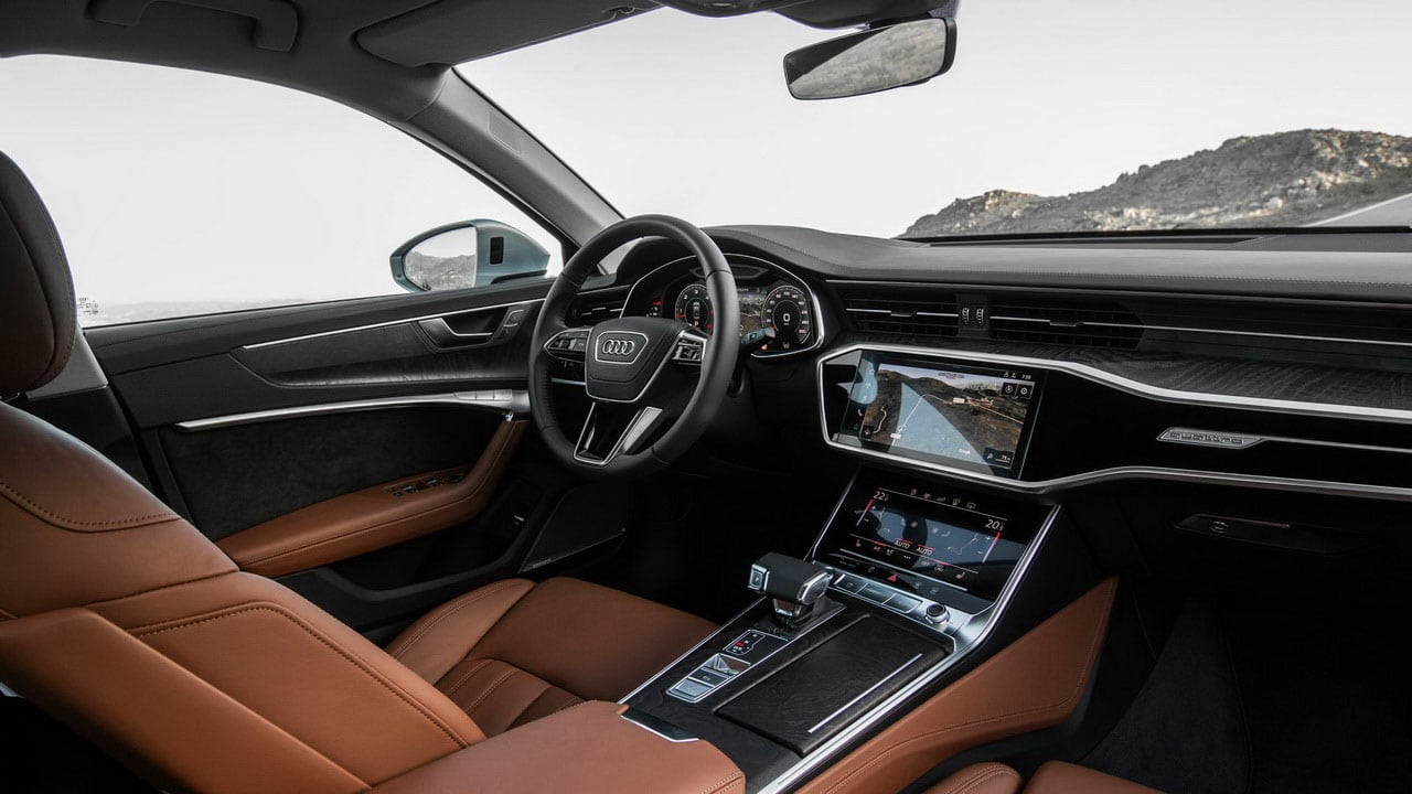 Novye versii Audi A6 2020 goda inter'er, salon, cena