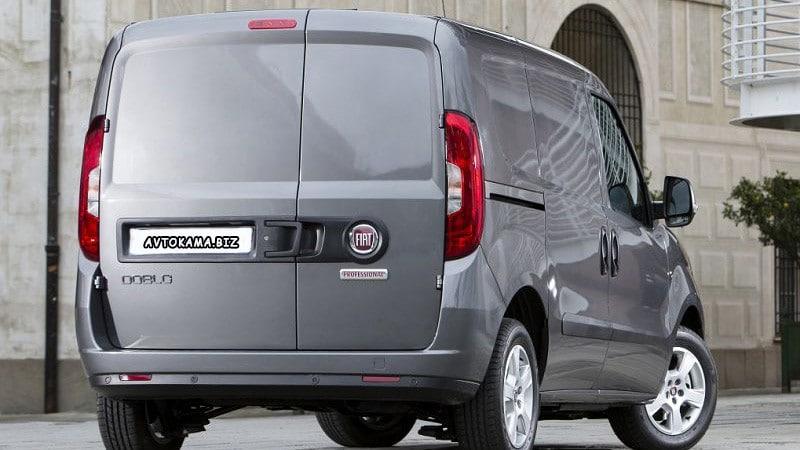 Новый Фиат Добло 2020 (Fiat Doblo): фото,интерьер, экстерьер, технические характеристики, цена, вид сзади