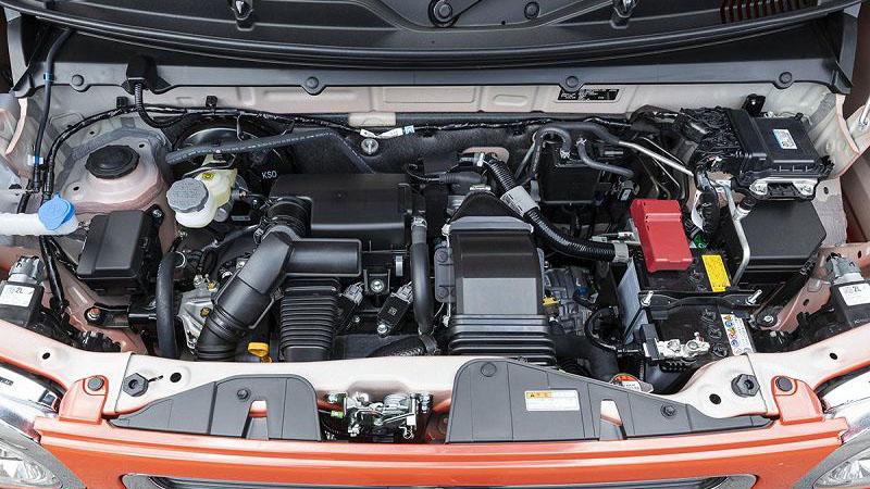 2020 Suzuki Hustler двигатель