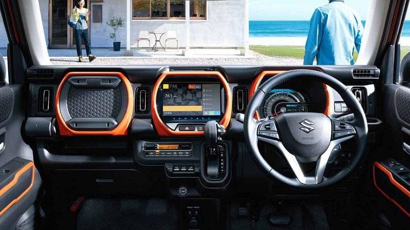 2020 Suzuki Hustler интерьер