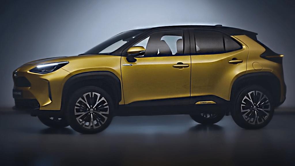 Новая Toyota Yaris Cross 2021