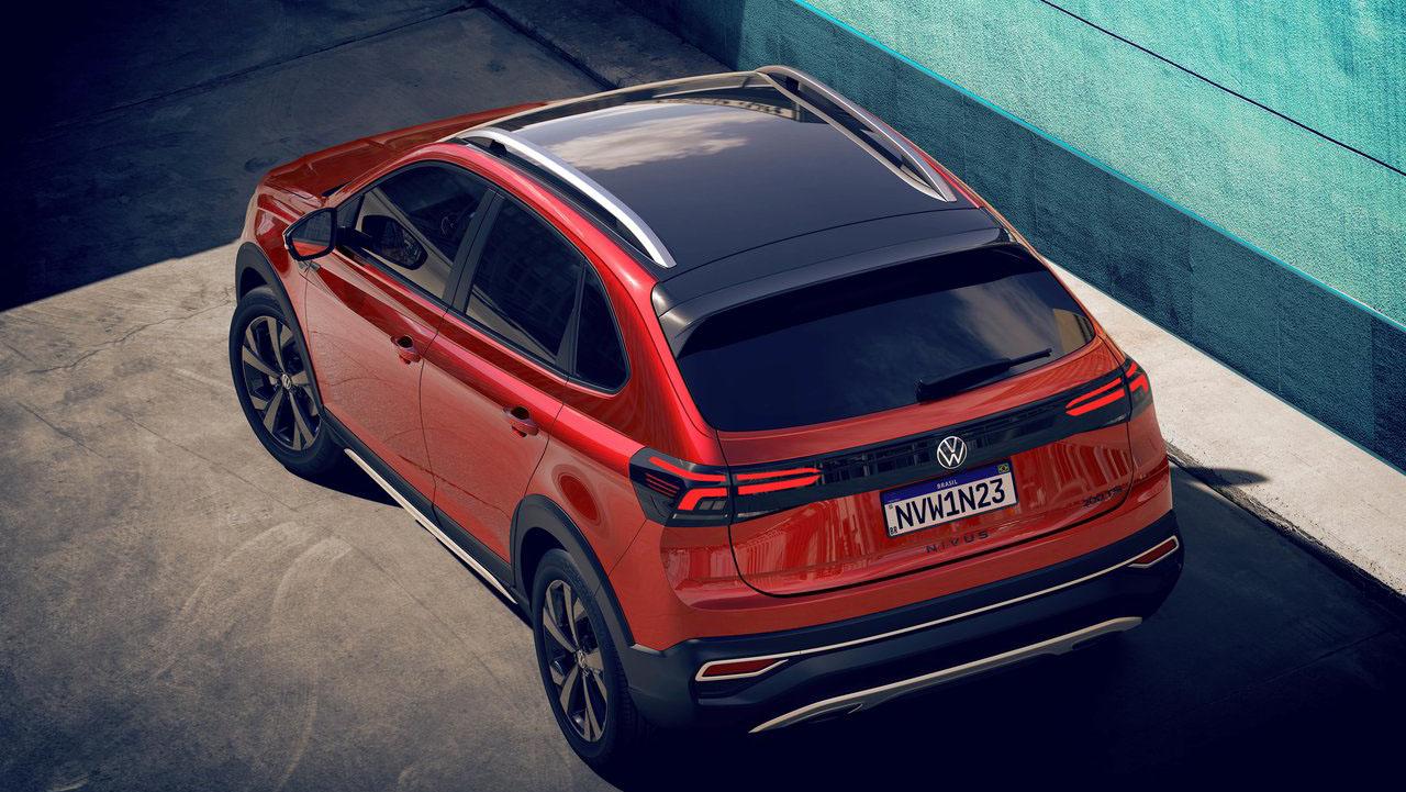 Volkswagen Nivus сзади