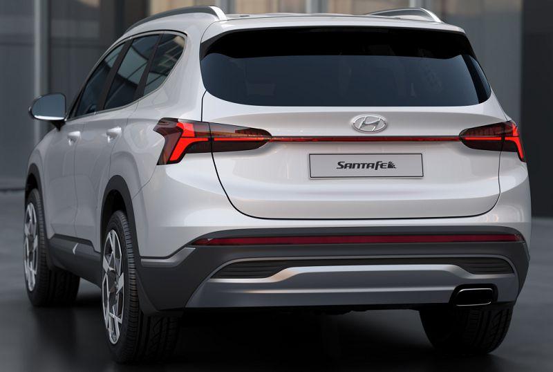 Hyundai представил Hyundai Santa Fe 2021 (Хендай Санта Фе) 1
