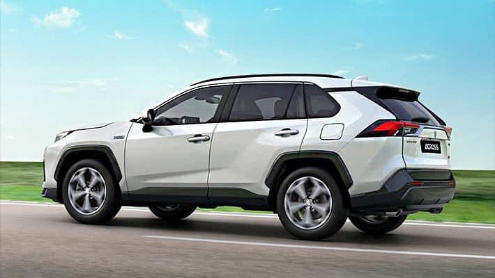 Suzuki Across 2021 сзади