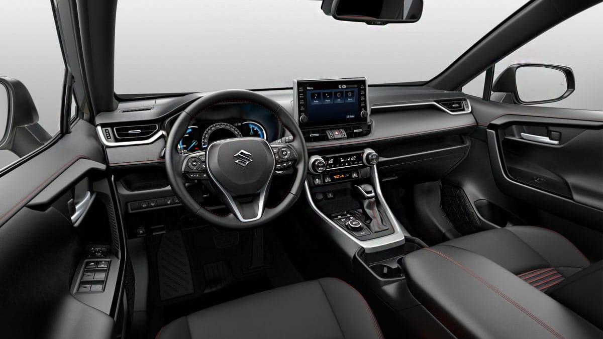 Suzuki Across 2021 салон