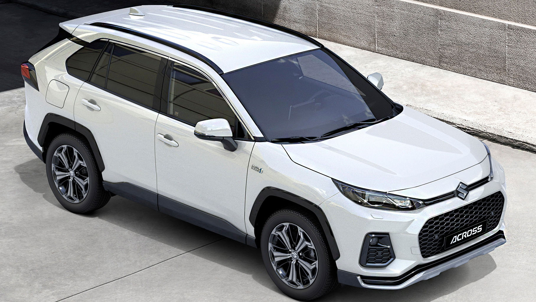 Suzuki Across 2021 спереди