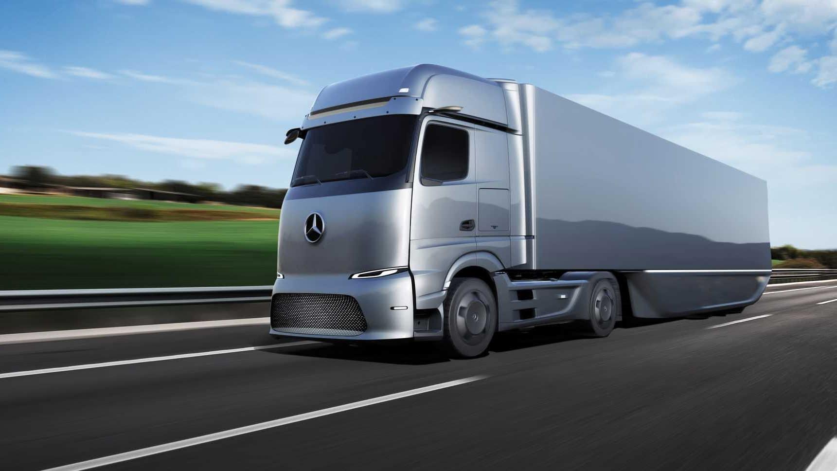 Mercedes eActros LongHaul 2024