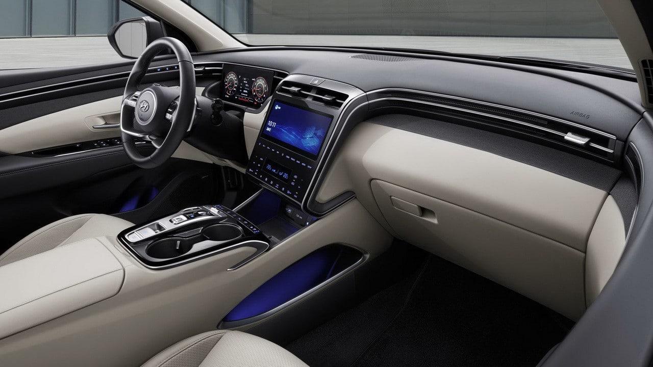 Hyundai Tucson 2021 интерьер