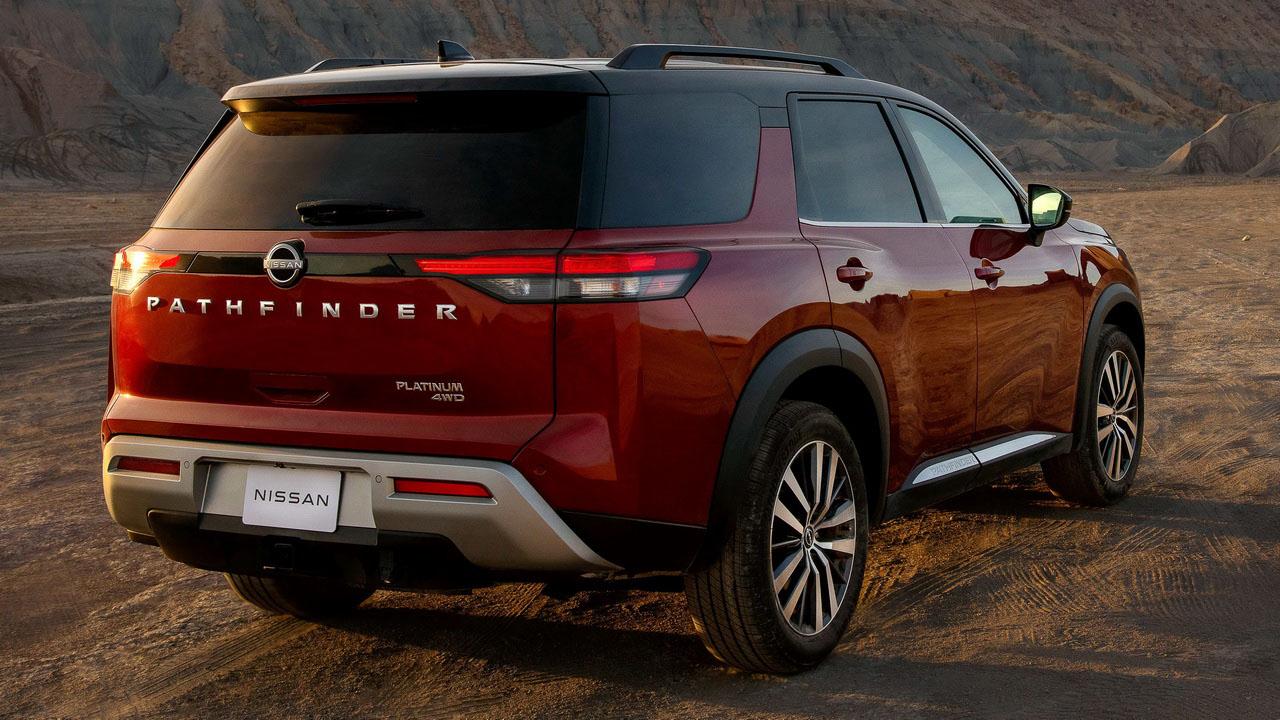 Новый Nissan Pathfinder 2021 (Ниссан Патфайндер) внешний вид
