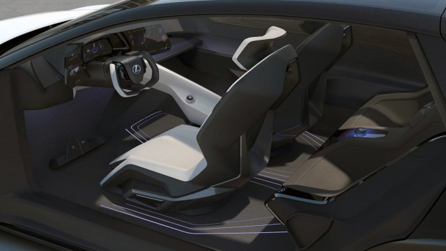 Lexus LF-Z Интерьер