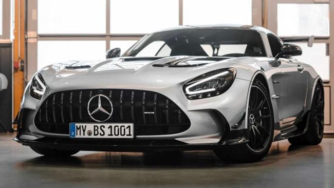 Mercedes-AMG GT (Вид спереди)