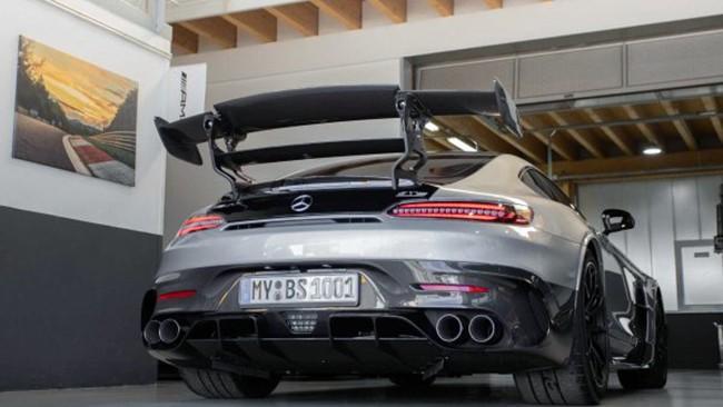 Mercedes-AMG GT (Вид сзади)