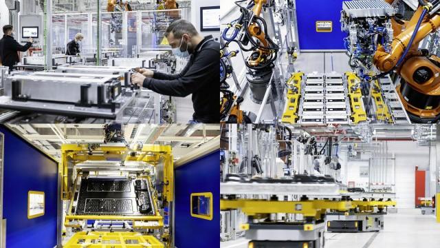 Mercedes-Benz EQS производство аккумуляторов