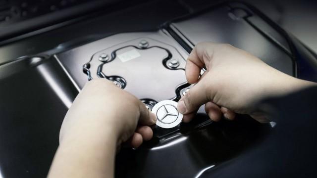 Mercedes-Benz EQS аккумулятор