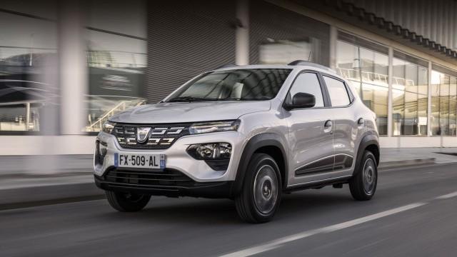 Новый электромобиль Dacia Spring
