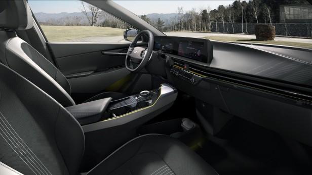 Новый Kia EV6 GT (Интерьер)