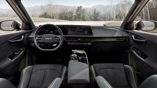 Новый Kia EV6 GT Интерьер