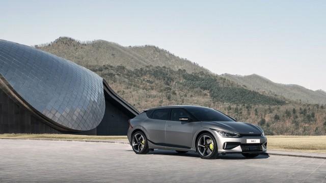 Новый Kia EV6 GT