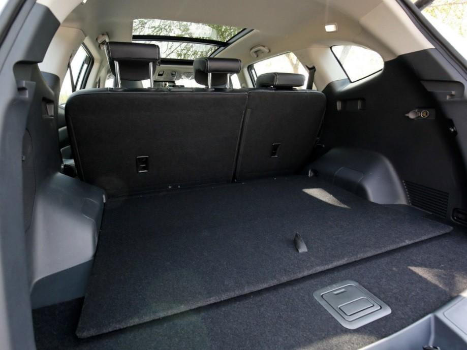 новый кроссовер jac S7 багажник