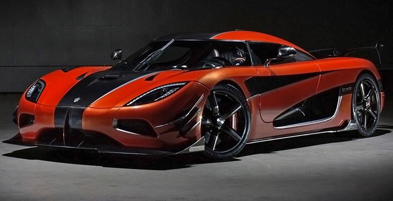 Koenigsegg Agera One of 1 - самый быстрый автомобиль в 2021 году