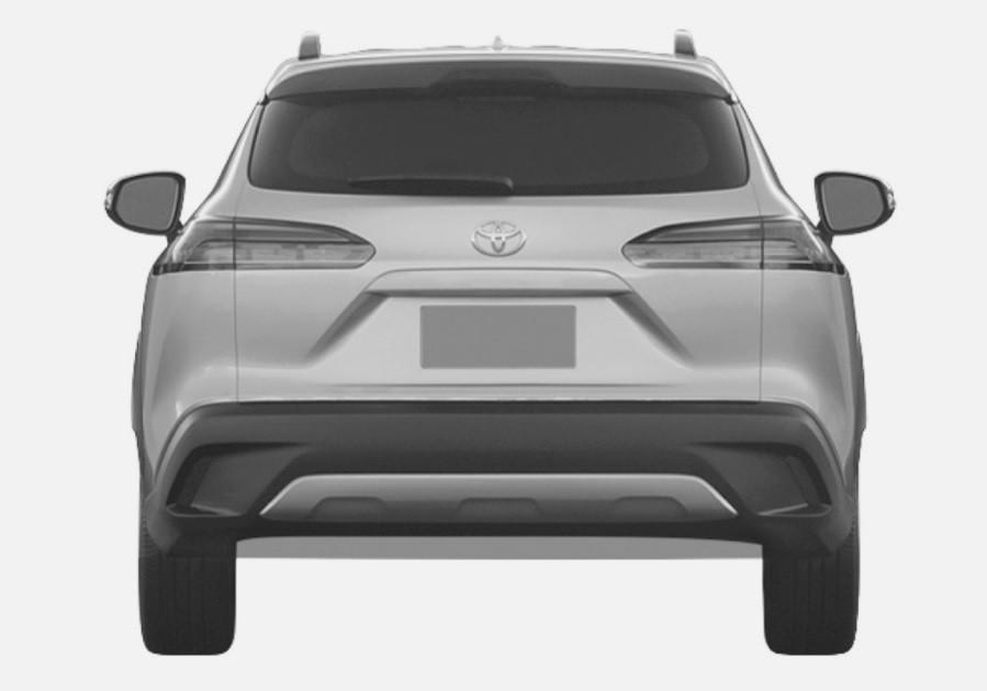 Кроссовер Toyota Corolla Cross 2021 года