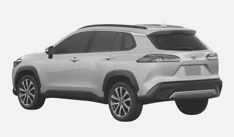 Кроссовер Toyota Corolla Cross 2021