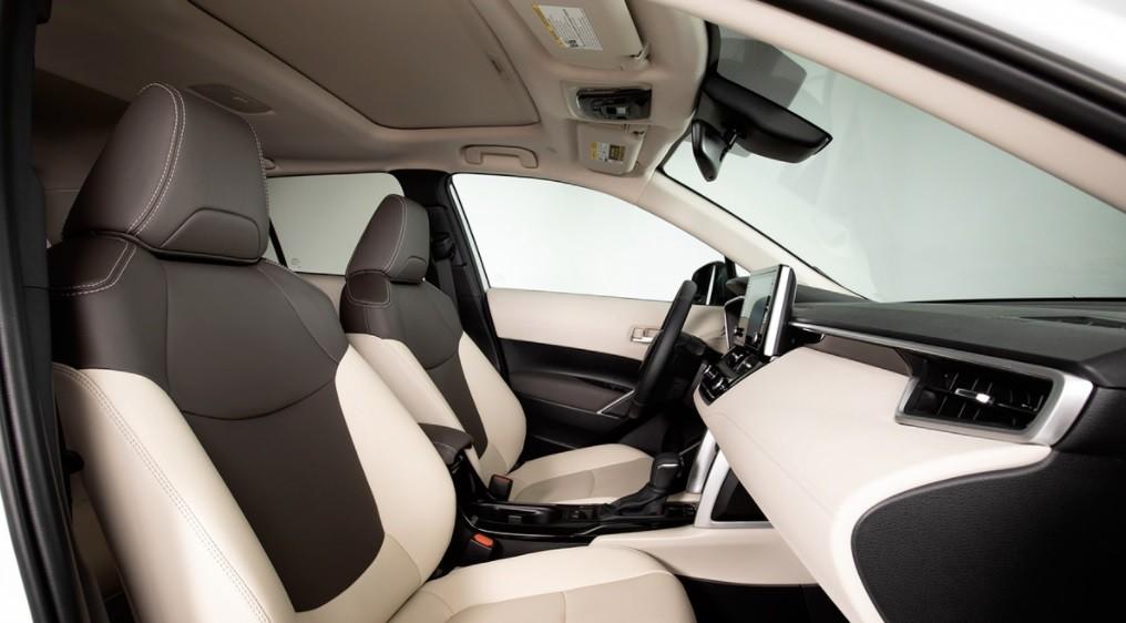 Новый кросс Toyota Corolla Cross