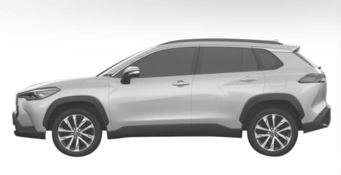 Новый кроссовер Toyota Corolla Cross 2021 года