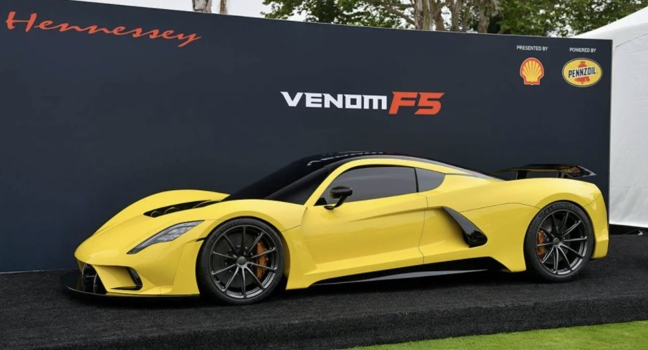 самый быстрый автомобиль Hennessey Venom F5 в 2021 году