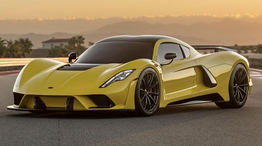 самый быстрый автомобиль Hennessey Venom F5