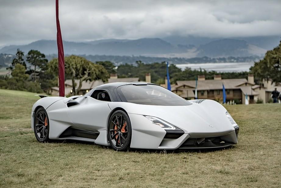 самый быстрый серийный легковой автомобиль в мире SSC Tuatara в 2021 году