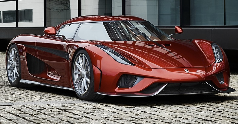 самый быстрый supercar Koenigsegg Regera