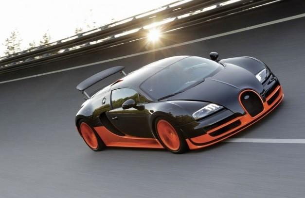 самый быстрый суперкар Bugatti Veyron 16.4 Super Sport в 2021 году