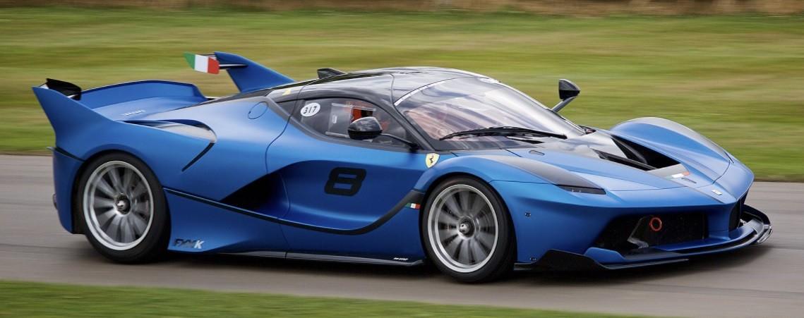 фото самого быстрого Ferrari FXX-K