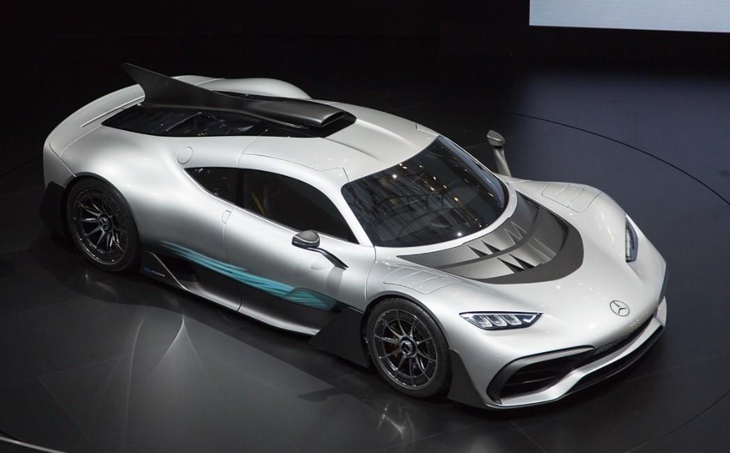 фото самого быстрого Mercedes-AMG Project ONE