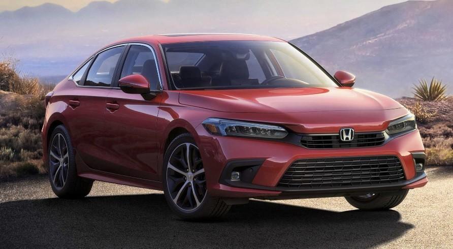 Honda Civic седан одиннадцатого 11 поколения