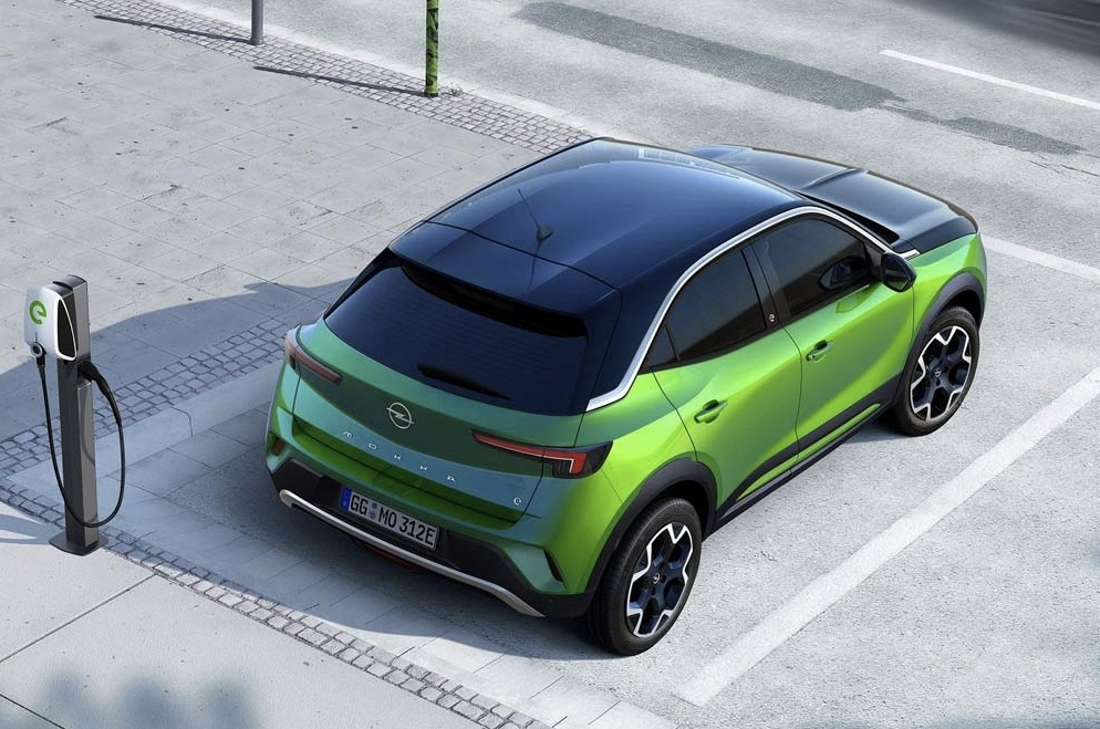 Новая пятидверка Opel Mokka 2021