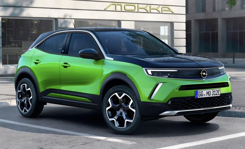 Новая пятидверка Opel Mokka 2022