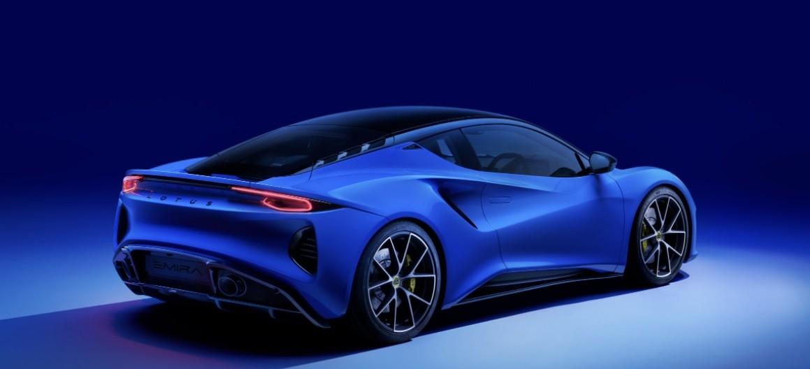 Новинка 2021 Lotus Emira фото