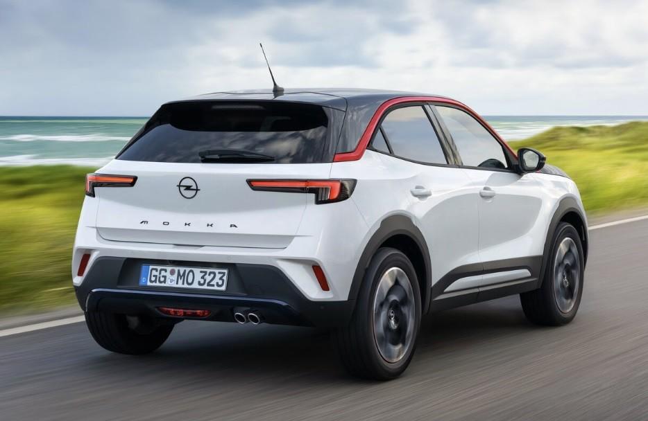 Новый кроссовер Opel Mokka 2 поколения