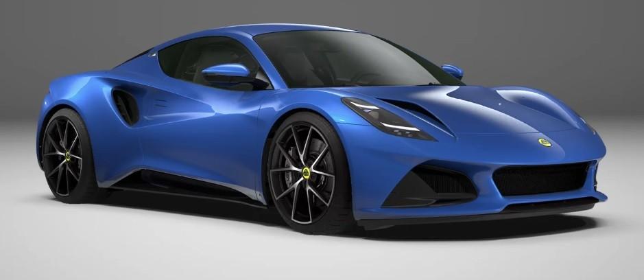 Новый спортивный суперкар 2022 Lotus Emira фото