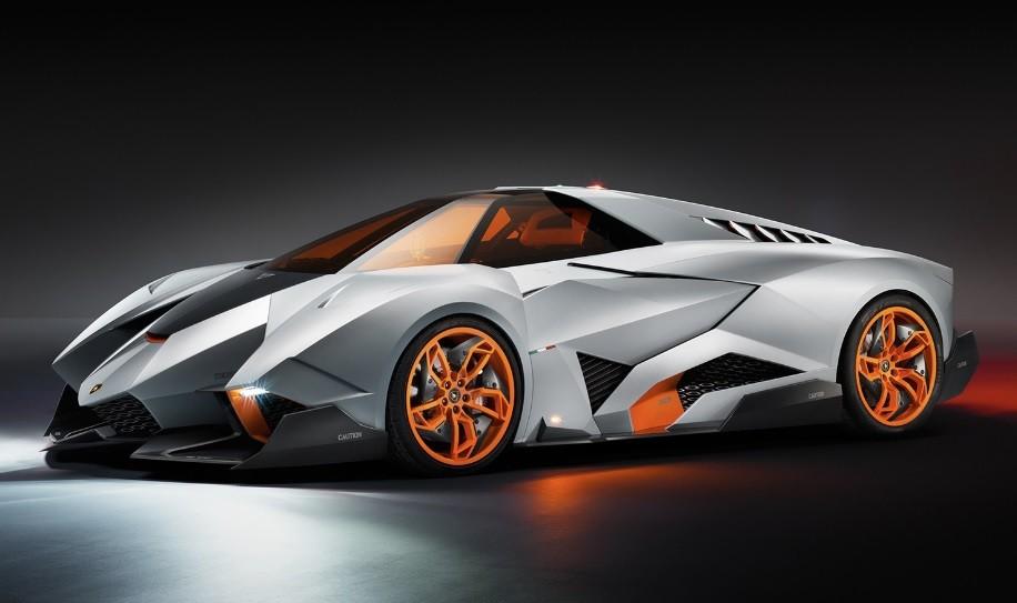 разгон ламборджини до 100 Lamborghini Egoista Concept