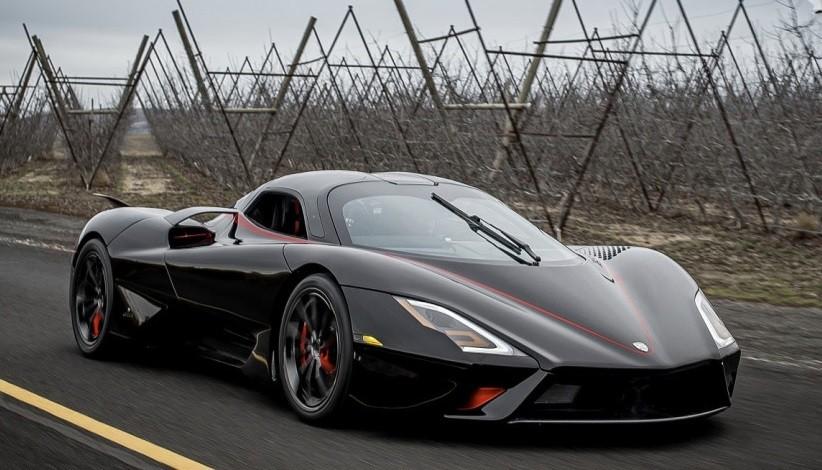 рейтинг самых быстрых автомобилей в мире от 0 до 100 км ч SSC Tuatara фото