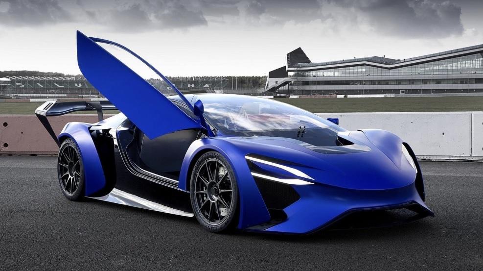 самая быстрая электроавто 2021 TechRules AT96 TREV Concept