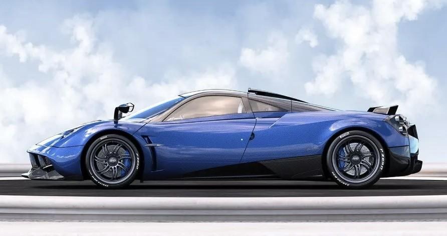самая быстрая машина до 100 Pagani Huayra Pearl