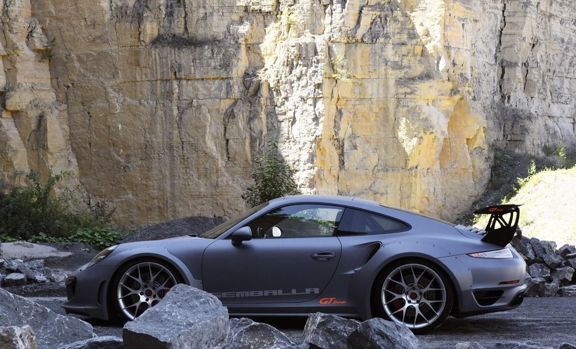 самая быстрая машина в мире фото Gemballa GT Concept